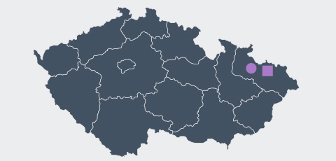 Map of The Czech Republic - Aktrion Automotive